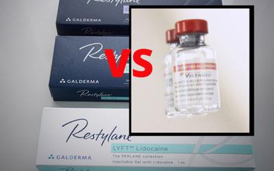 Quelle est la différence entre Botox et acide hyaluronique?